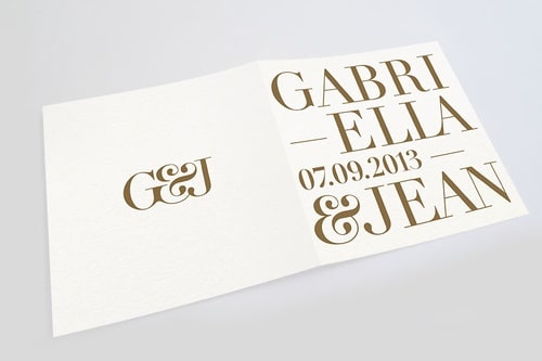 Gabriella & Jean wedding