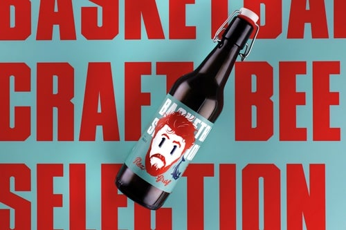 Basketball craft beer selection